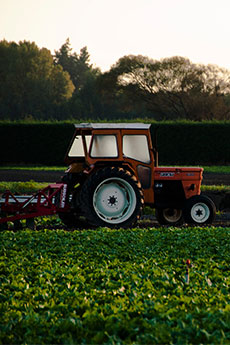 Push to talk (PTT) radios for the agriculture industry